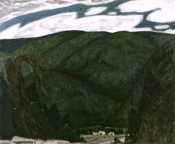 The Dark Mountain | Marsden Hartley | oil painting