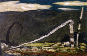 Desertion | Marsden Hartley | oil painting