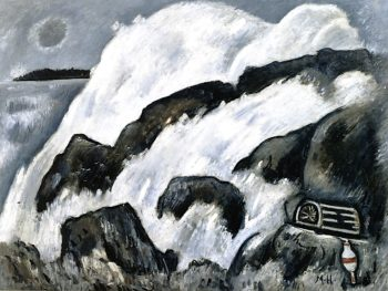 After the Hurricane | Marsden Hartley | oil painting