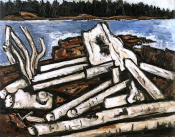 Ghosts of the Forest | Marsden Hartley | oil painting