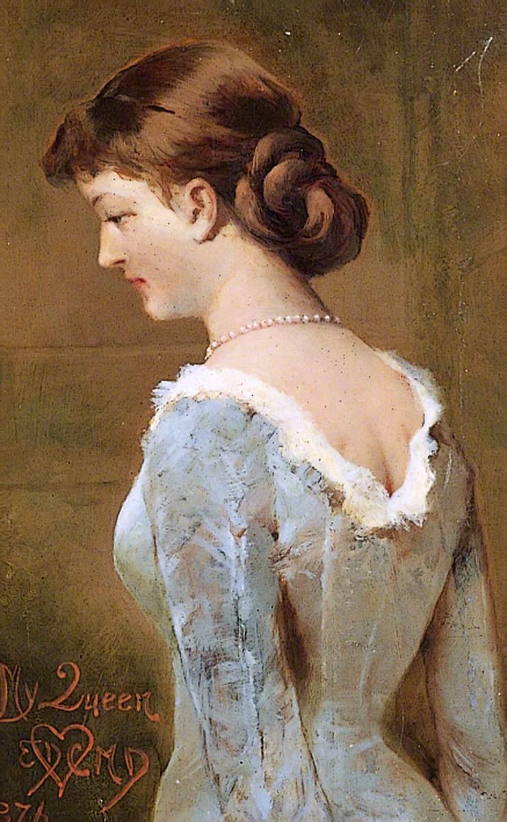 Amalie Helene Nude my queen