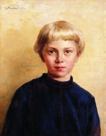 Portrait of a Boy   Konstantin Yegorovich Makovsky   Oil Painting