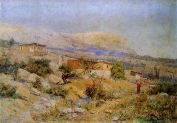 Balkan Landscape   Vasily Polenov   Oil Painting