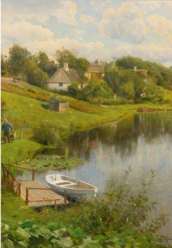 Hosterkob | Peder Mork Mønsted | Oil Painting