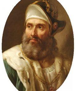 Portrait of Wenceslas II of Bohemia | Marcello Bacciarelli | Oil Painting