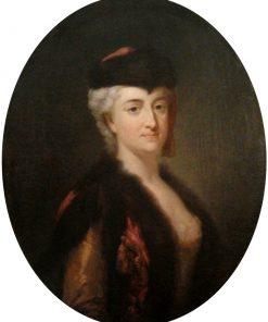 Konstancja Czartoryska in Polish Costume   Marcello Bacciarelli   Oil Painting