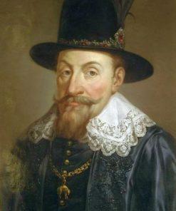 Portrait of Sigismund III Vasa   Marcello Bacciarelli   Oil Painting