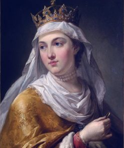 Portrait of Queen Jadwiga Anjou   Marcello Bacciarelli   Oil Painting