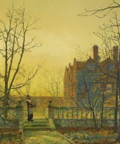 Autumn Gold | John Atkinson Grimshaw | Oil Painting