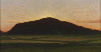 Afterglow | Karl Nordström | Oil Painting