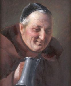 Friar With Stein | Alois Binder | Oil Painting