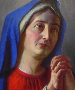 Praying Madonna | Alois Binder | Oil Painting