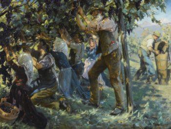 Wine Harvest in the Tyrol | Peder Severin Kroyer | Oil Painting