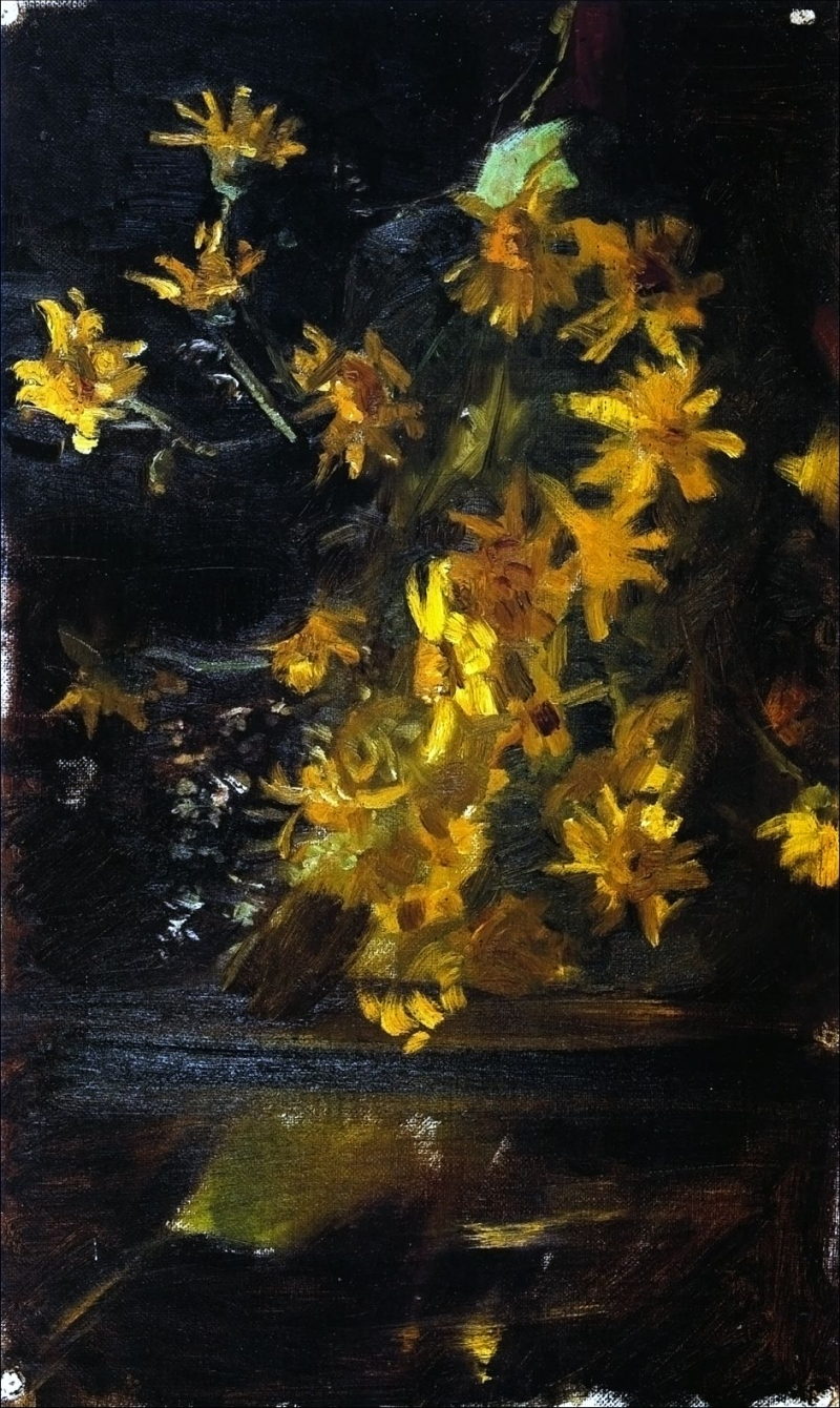 Yellow flowers painting marie triepcke kroyer oil painting yellow flowers marie triepcke kroyer oil painting mightylinksfo