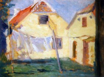 Laundry | Marie Triepcke Kroyer | Oil Painting