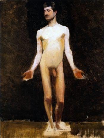 Male Nude | Marie Triepcke Kroyer | Oil Painting
