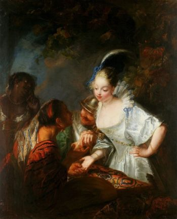 Gypsy Fortuneteller | Antoine Pesne | Oil Painting
