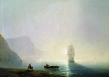 Morning   Ivan Constantinovich Aivazovsky   Oil Painting