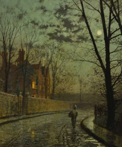 After the Shower | John Atkinson Grimshaw | Oil Painting