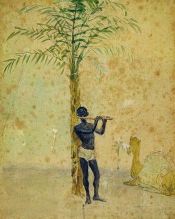 African Scene   Ilia Efimovich Repin   Oil Painting