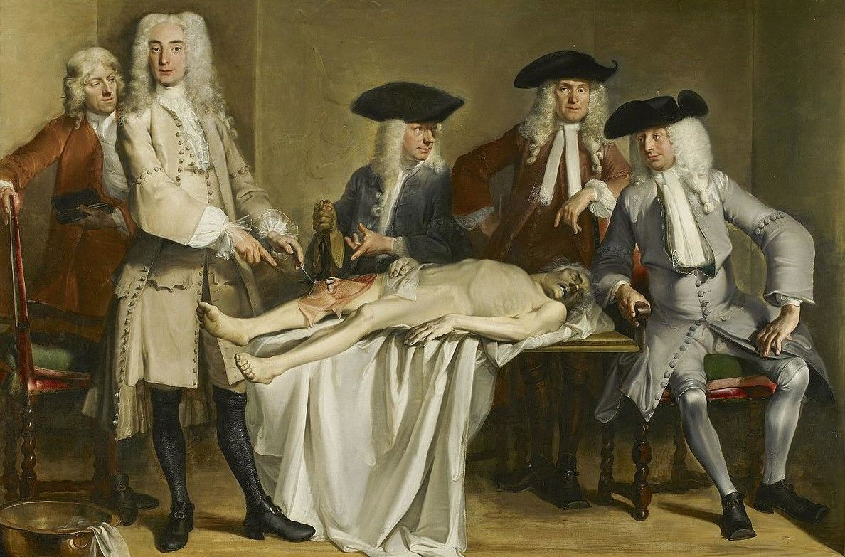 Anatomy Lesson of Dr Willem Röell Painting | Cornelis Troost Oil ...