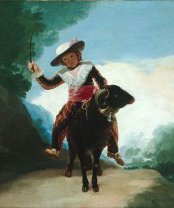 Boy with a Ram   Francisco de Goya y Lucientes   Oil Painting