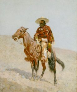 A Mexican Vaquero   Frederic Remington   Oil Painting