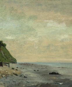 Cliffs on the Sea Coast | Gustave Courbet | Oil Painting