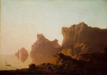 The Gulf of Salerno   Joseph Wright of Derby   Oil Painting