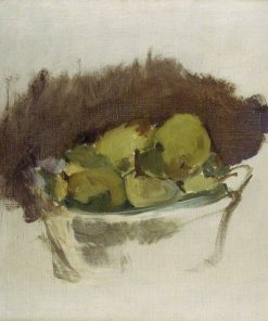 A Basket of Pears | Edouard Manet | Oil Painting