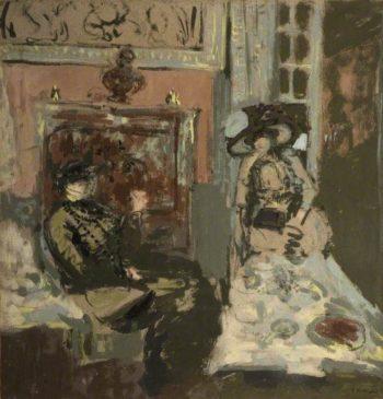 Le repas | Edouard Vuillard | Oil Painting