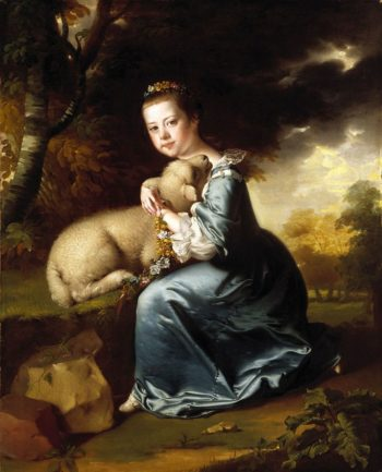 Miss Frances Warren   Joseph Wright of Derby   Oil Painting