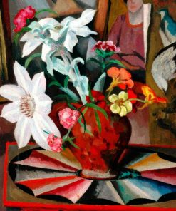 Flowers in a Vase | Roger Eliot Fry | Oil Painting