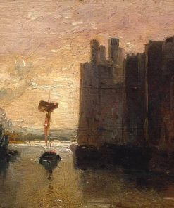 Caernarvon Castle   Joseph Mallord William Turner   Oil Painting