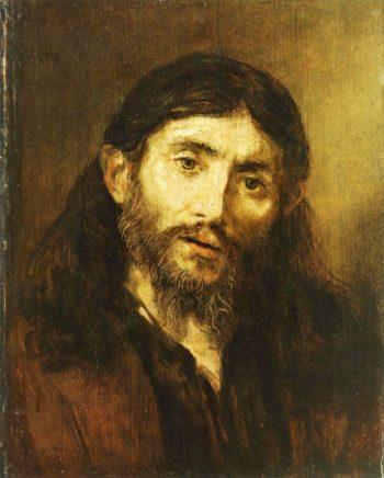 Bust of Christ (follower)   Rembrandt van Rijn   Oil Painting