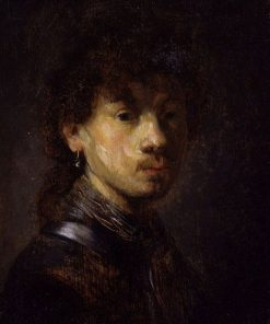 Bust of a Young Man (follower) | Rembrandt van Rijn | Oil Painting