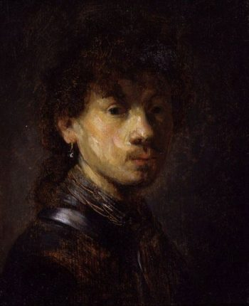 Bust of a Young Man (follower)   Rembrandt van Rijn   Oil Painting