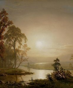 Across the Prairie   Albert Bierstadt   Oil Painting