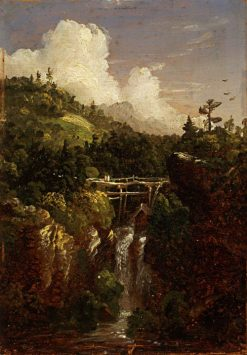Genersee Scenery   Thomas Cole   Oil Painting