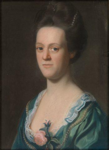 Elizabeth Green (Mrs. Ebenezer Storer II)   John Singleton Copley   Oil Painting