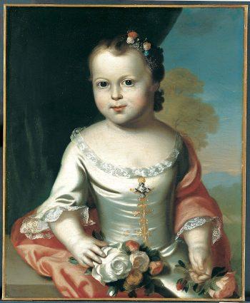 Elizabeth Greenleaf   John Singleton Copley   Oil Painting