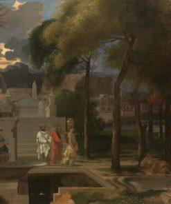 A Classical Landscape | Sebastien Bourdon | Oil Painting