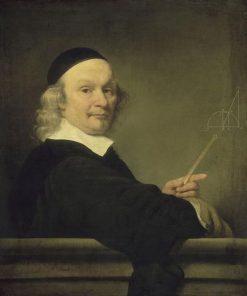 A Mathemetician   Ferdinand Bol   Oil Painting