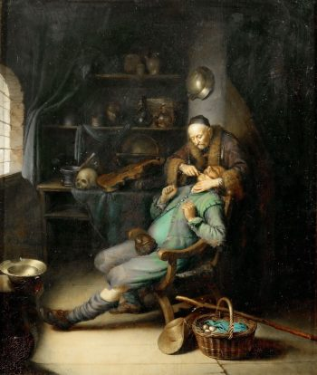 A Tooth Extraction | Gerrit Dou | Oil Painting