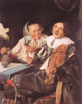 A Carousing Couple | Judith Leyster | Oil Painting