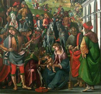 Adoration of the Magi | Luca Signorelli | Oil Painting