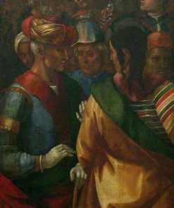 A Group of Fifteen Figures | Luca Signorelli | Oil Painting