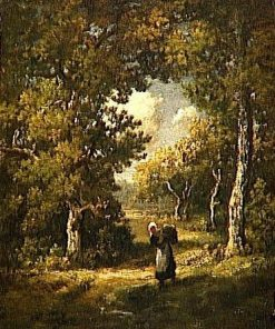 A Clearing in the Forest | Narcisse Dìaz de la Peña | Oil Painting