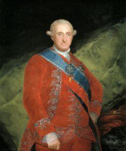 Carlos IV (1748-1819)   Francisco de Goya y Lucientes   Oil Painting
