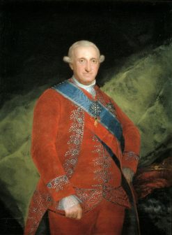 Carlos IV (1748-1819) | Francisco de Goya y Lucientes | Oil Painting